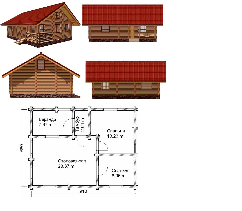 Деревянные дома, бани, беседки, изделия из бруса и все о них - Страница 3 - Строим Дом